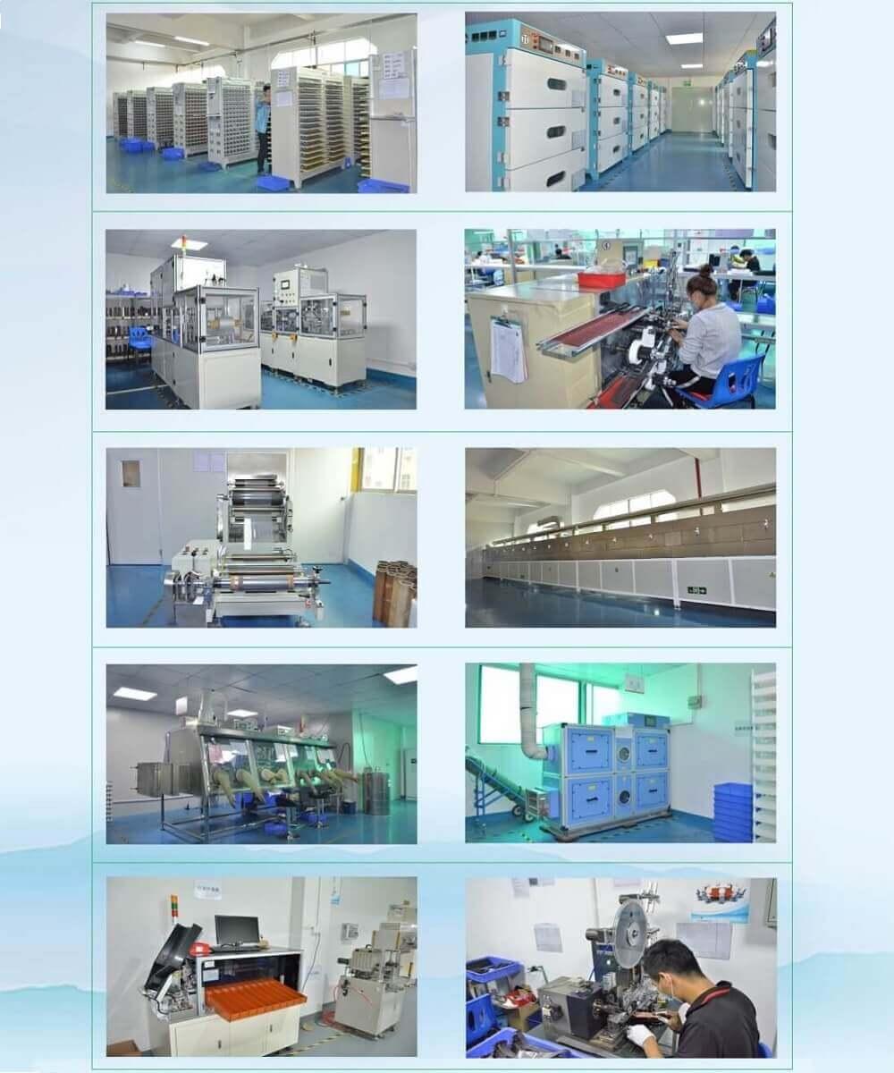 Li-ion battery Factory