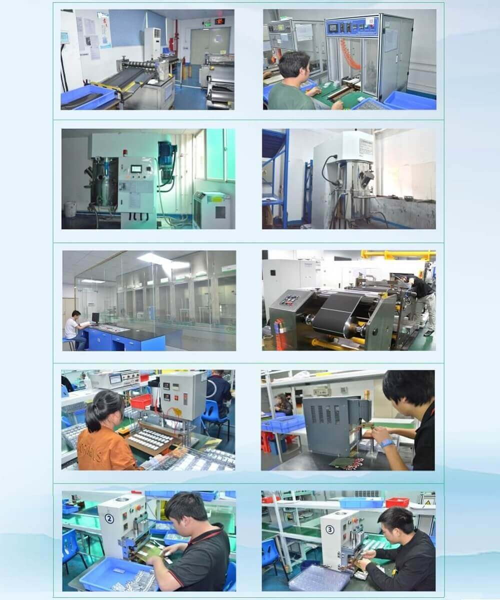 Li-polymer battery Factory