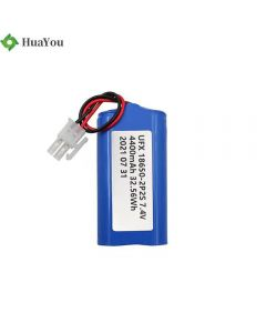 Factory Supply Rechargeable Cylindrical Batteries for Medical Equipment HY 18650-2S2P 4400mAh 7.4V Li-Ion Battery