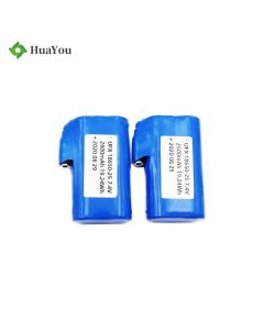 Rechargeable 18650 Battery for Wireless Heated Belt - HY 18650-2S 2600mAh 7.4V Li-Ion Battery