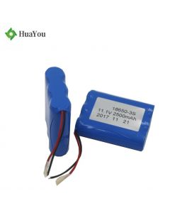 18650-2P3S Battery