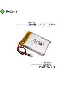 Customized Beauty Equipment LiFePO4 Batteries HY 602837 400mAh 3.2V Lithium Polymer Battery