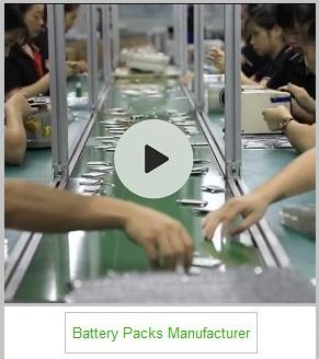 battery packs manufacturer