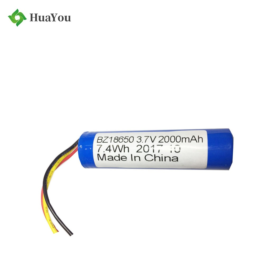 18650 Batteries 2000mah 3.7V