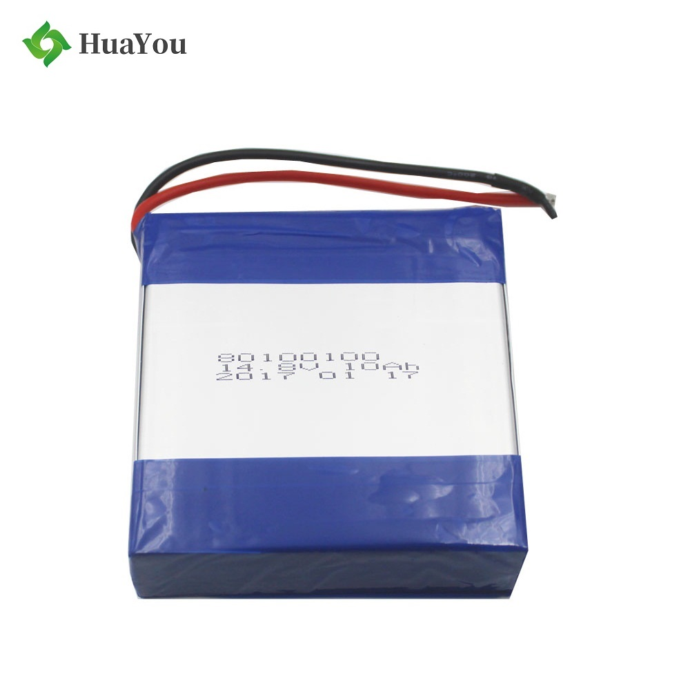 14.8V 10Ah Rechargeable Polymer Li-ion Battery